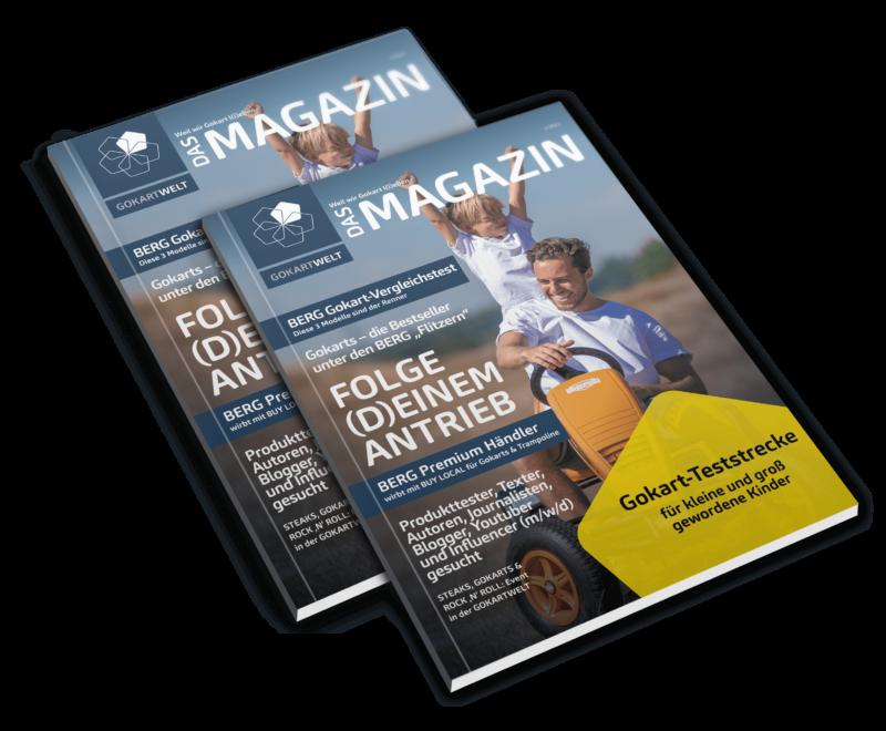 Bei der Strolch-Olympiade in Lauterbach fahren unsere Gokarts ein, Das Magazin bietet Gokart-Fahrspaß für jedes Alter.