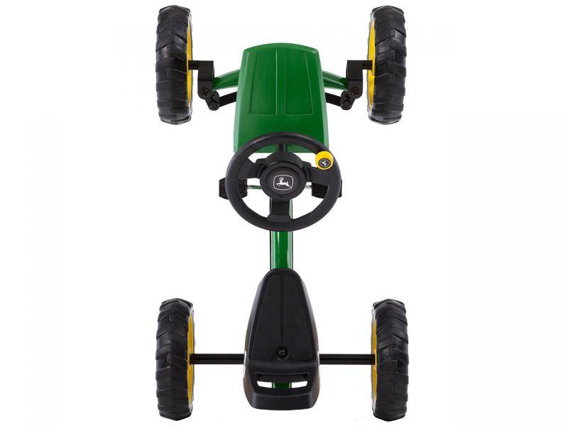 BERG Buzzy John Deere Gokart ist die No. 1 für Land-Kinder ab 2 Jahren, Das Magazin bietet Gokart-Fahrspaß für jedes Alter.