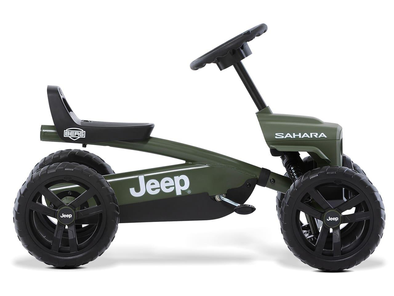 Ratgeber: Das BERG Jeep Buzzy Sahara Pedal-Gokart für Kinder ab 2 Jahren, Das Magazin bietet Gokart-Fahrspaß für jedes Alter.